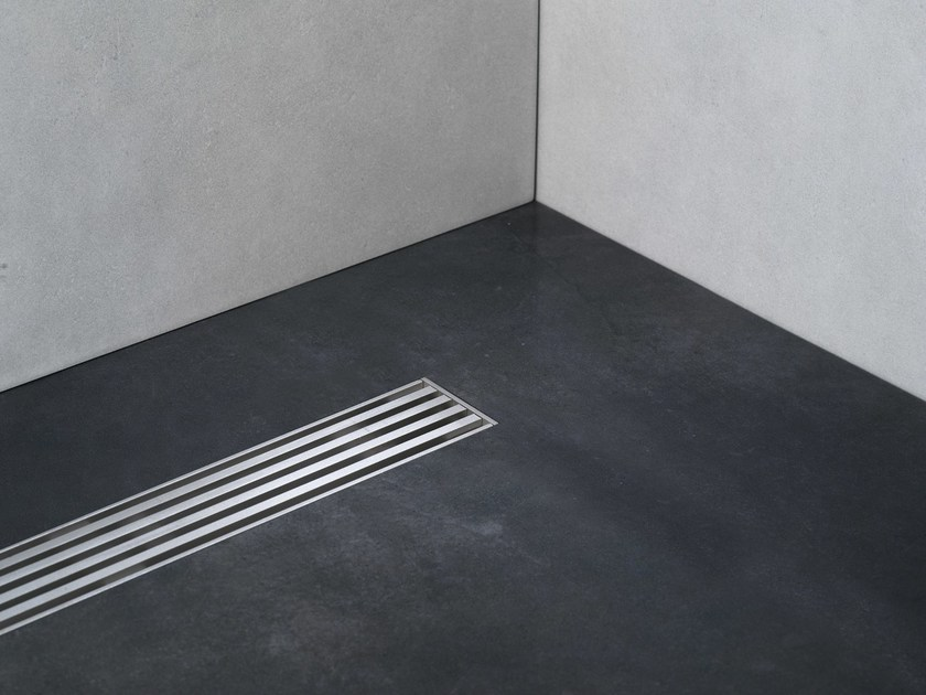 Linear Drain con Griglia Technic