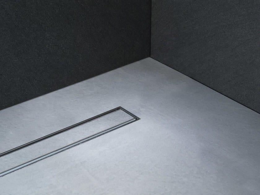 Linear Drain con Griglia Tile_