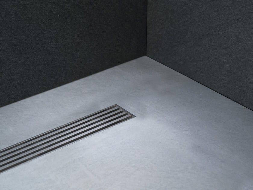 Linear Drain con Griglia Technic_