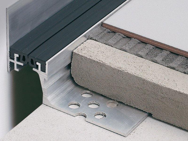Modular corner structural joints and joint covers JOINTEC P by PROFILITEC