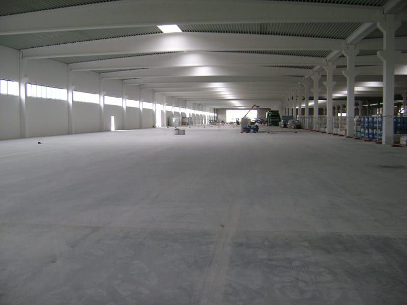 Cement industrial flooring STABILPAV by General Admixtures