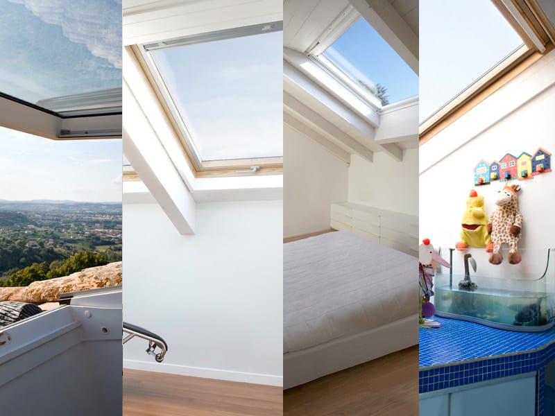 Roof window VELUX Elevato isolamento acustico by Velux