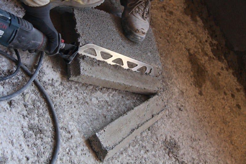 Si noti la praticità nell'utilizzo del Pannello di calore attraverso semplici tagli.