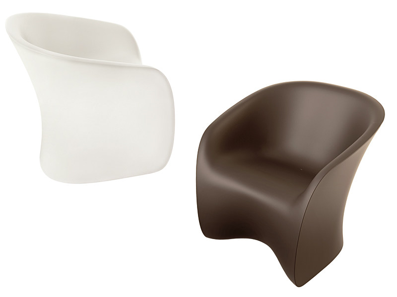 Polyethylene garden armchair NUVOLA 923 by Zanotta