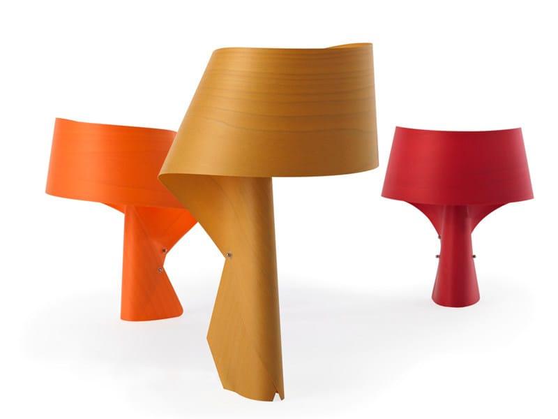 Handmade table lamp AIR M by LZF