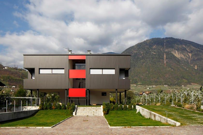 Doga di rivestimento in alluminio Casa Privata (BZ)