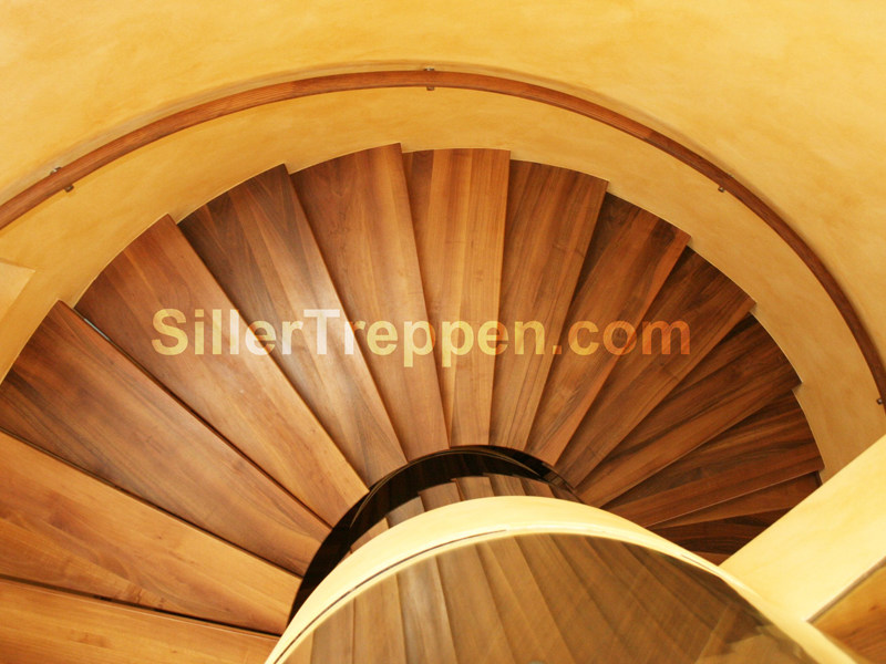 Spiral staircase EUROPA CONICAL by Siller Treppen