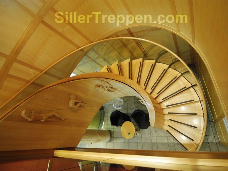 Spiral staircase EUROPA ART by Siller Treppen