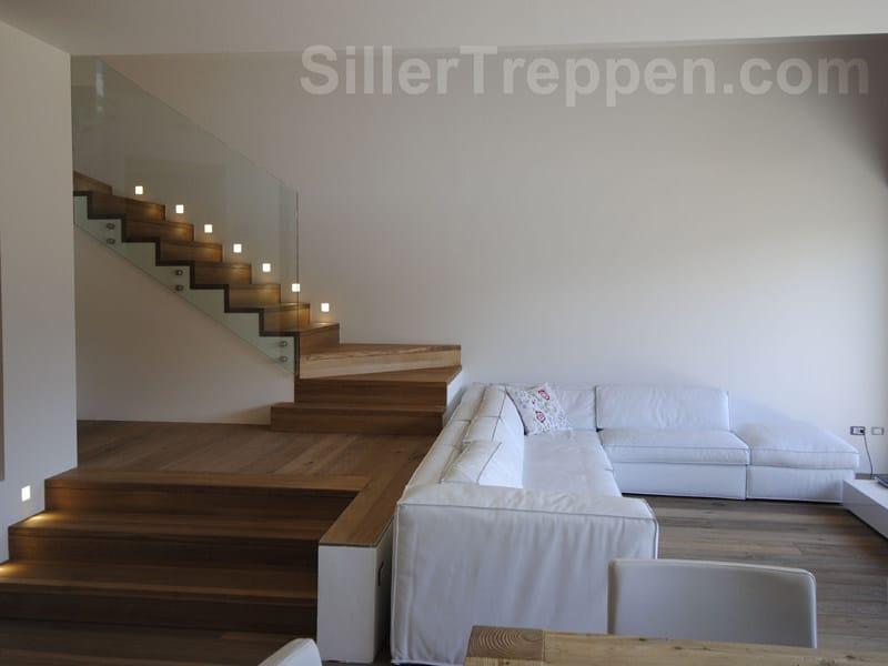 Open staircase FALTWERK by Siller Treppen