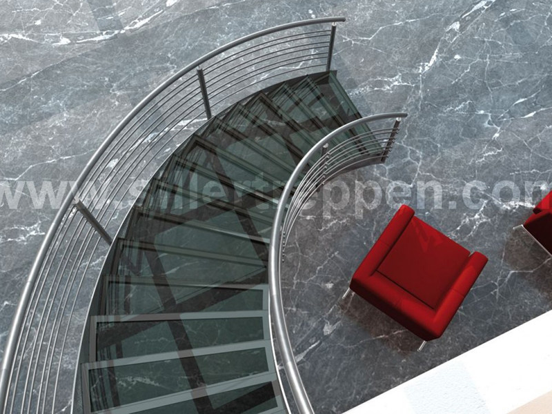 Spiral staircase SUPERIOR by Siller Treppen