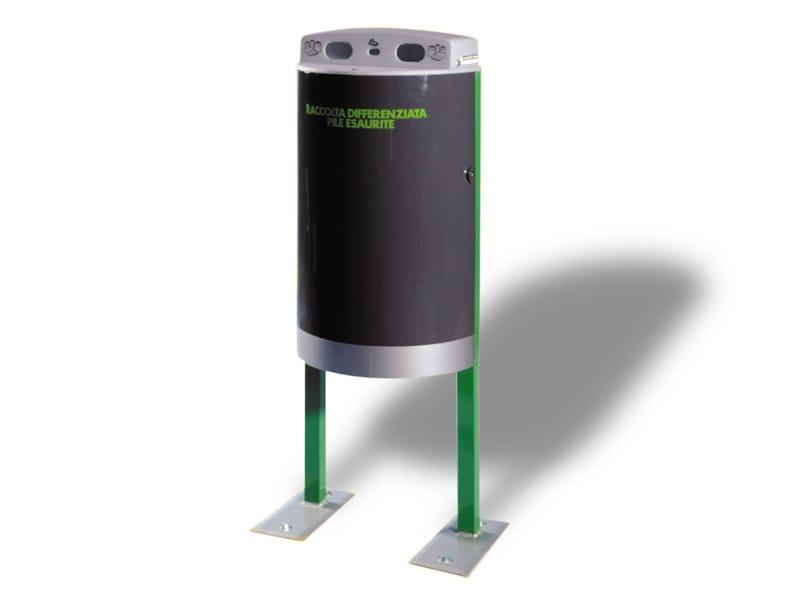 Portarifiuti per batterie scariche ECO PILA STANDARD by A.U.ESSE