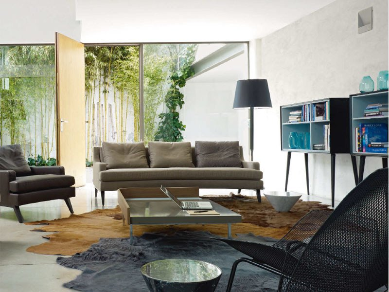 Sofa with removable cover BELEM by Ligne Roset