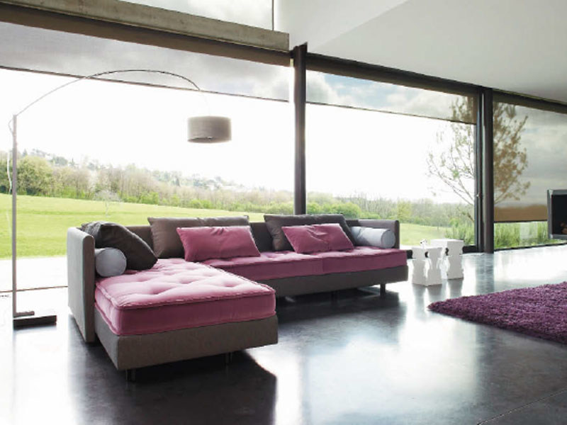 Sectional sofa FENG By Ligne Roset design Didier Gomez