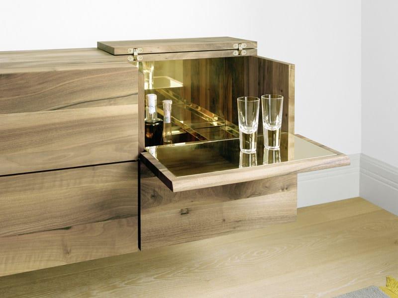 Wooden bar cabinet ARAQ by e15