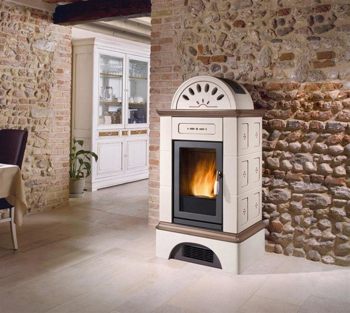 Pellet stove BRUNICO | Pellet stove by Piazzetta
