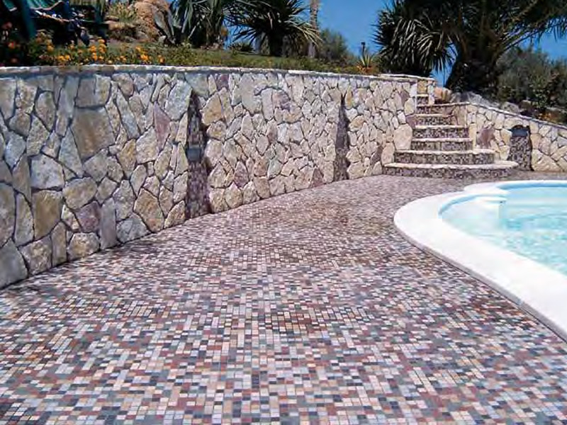 Ceramic mosaic OUTDOOR by Appiani