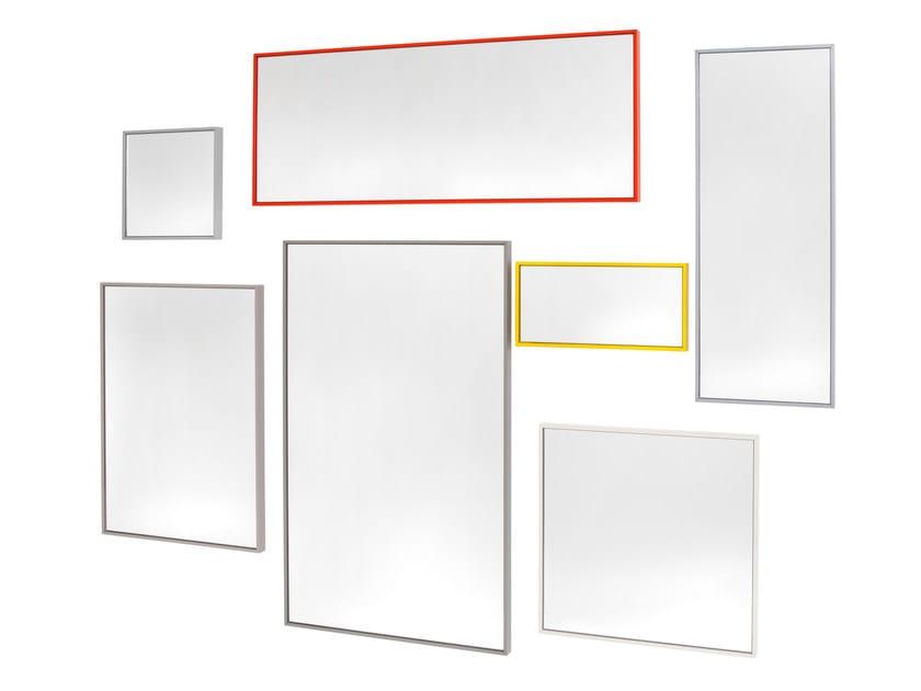 Wall-mounted framed mirror INDIVIDUAL by Schönbuch