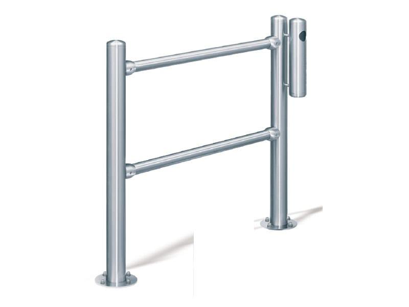 Stainless steel pedestrian barrier INOX | Pedestrian barrier by Lazzari