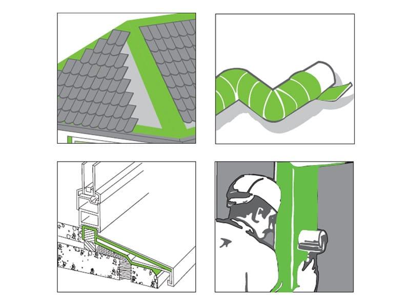 Perm A Barrier® Aluminium Flashing Descrizione