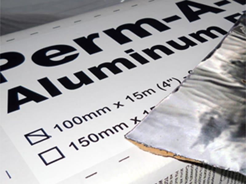Bituminous and butyl sealant Perm A Barrier® Aluminium Flashing by Grace