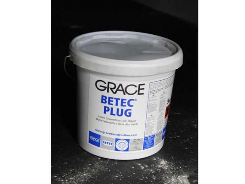 Cement-based waterproofing coating Betec® Plug by Grace