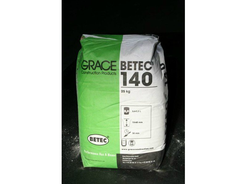 Mortar and grout for renovation Betec® 140 by Grace