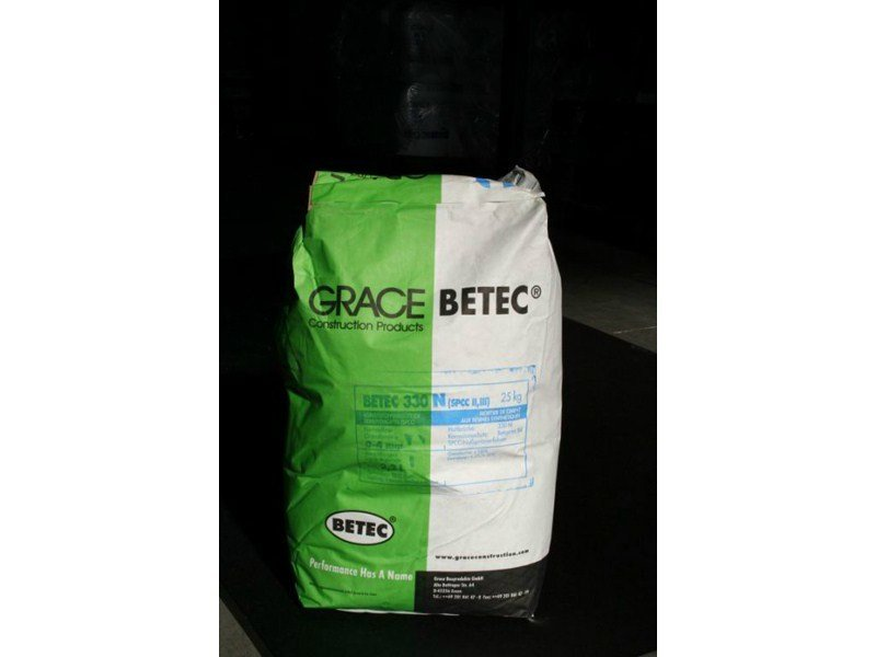 Mortar and grout for renovation Betec® 330 N by Grace