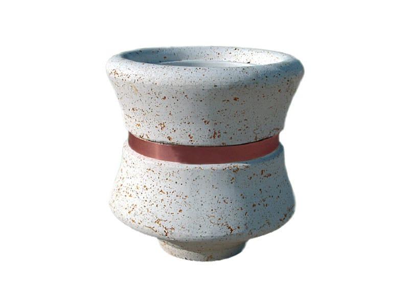 Cement Flower pot AR057 by Lazzari