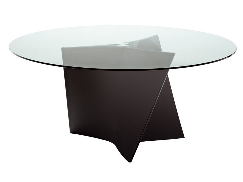 Crystal living room table ELICA 2576 by Zanotta