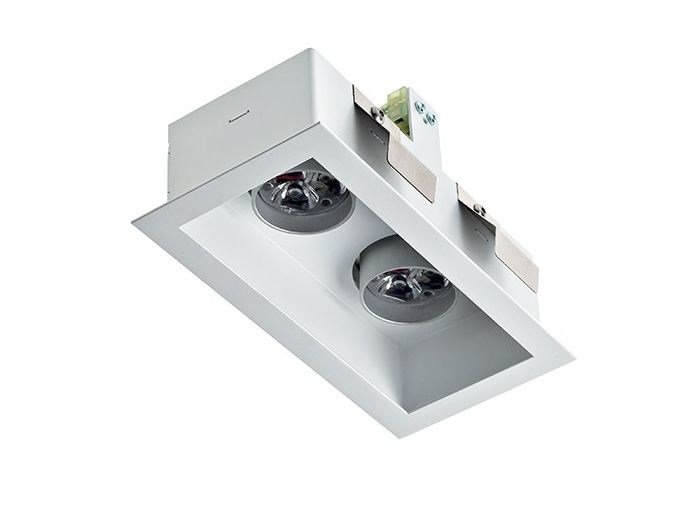 LED multiple recessed spotlight Quad 5.2 by L&L Luce&Light