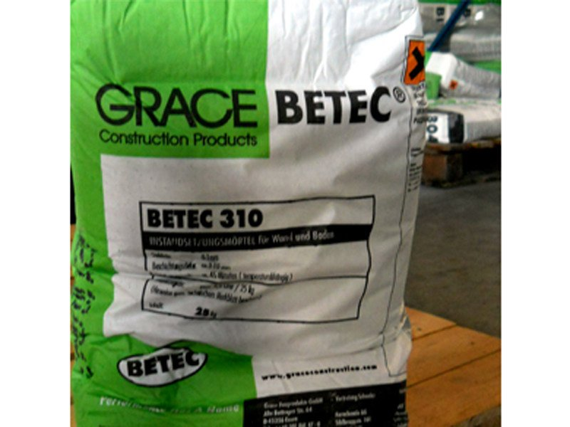 Mortar and grout for renovation Betec® 310 by Grace