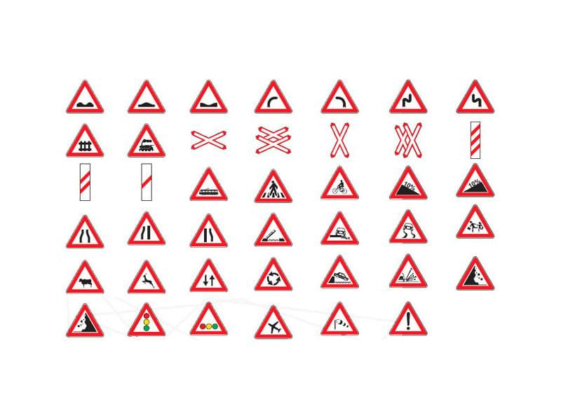 Segnale stradale Segnali di pericolo