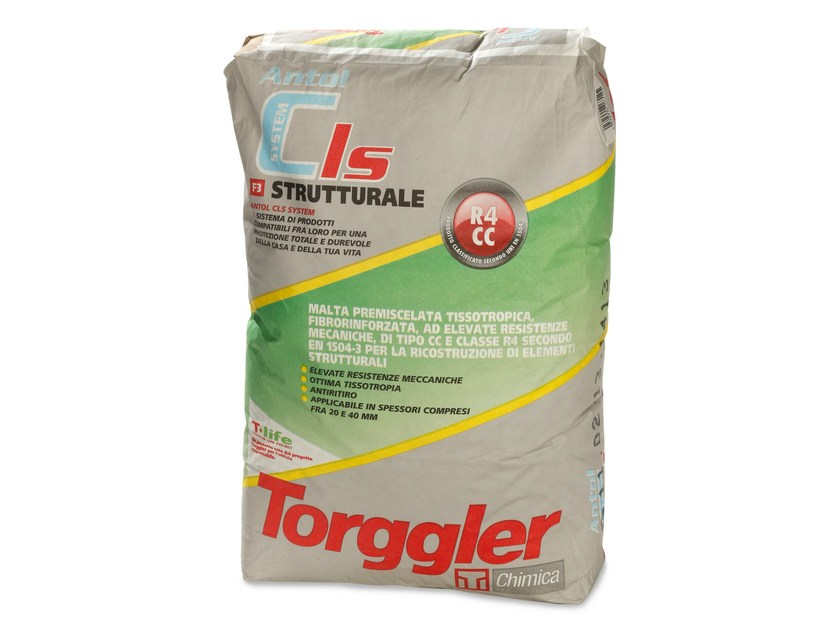 Mortar and grout for renovation ANTOL CLS SYSTEM STRUTTURALE by Torggler Chimica