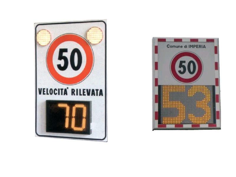Misuratore di velocità, rilevatore di traffico MINI INDICATOR by Lazzari