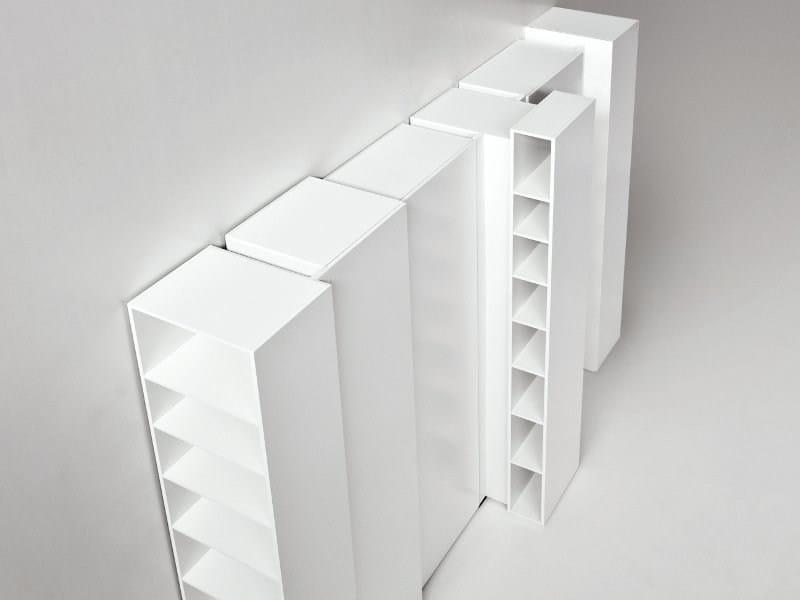 Modular bookcase BLIO | Bookcase by Kristalia