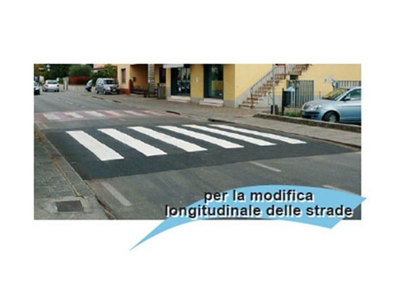 Traffic divider barrier, speed hump SG128 by Lazzari