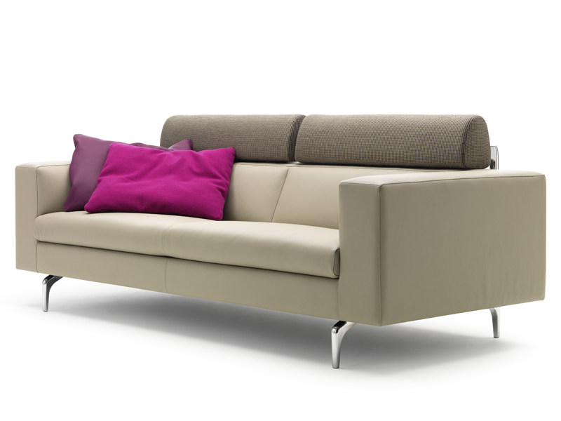 Sectional leather sofa HORATIO by LEOLUX