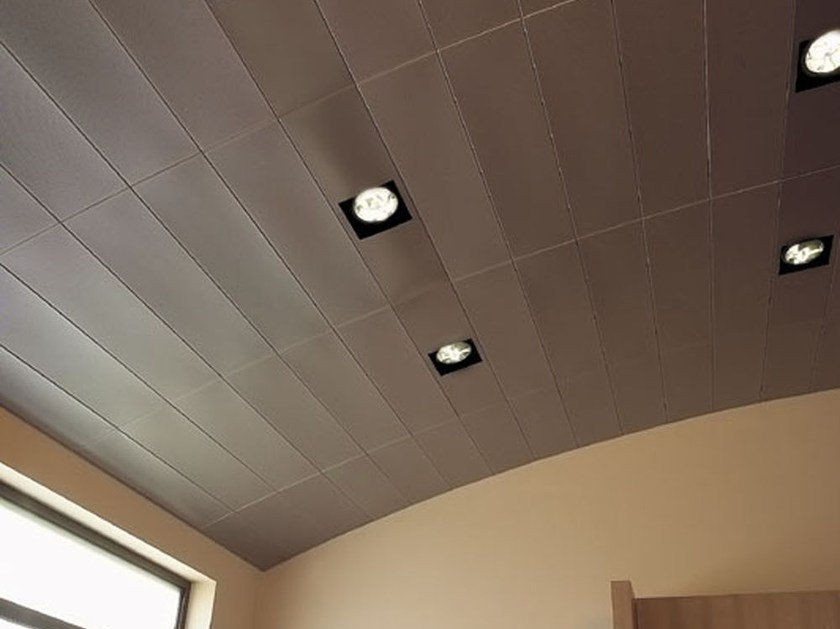Steel ceiling tiles STAVES ATENA by atena