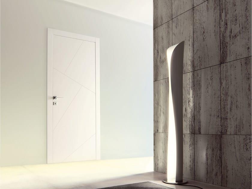 Porta a filo muro laccata rio ghizzi benatti for Brico porte interne