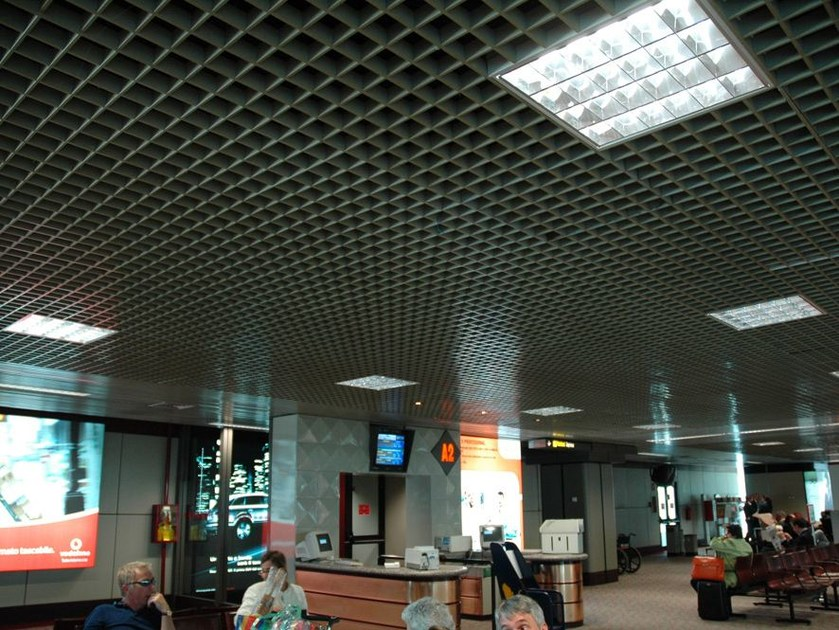 Metal ceiling tiles OPEN CELL ATENA by atena