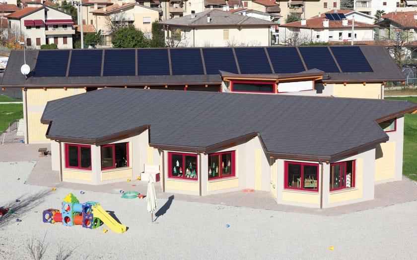 TEGOSOLAR tetto fotovoltaico Tegosolar integrato con Prestige Compact