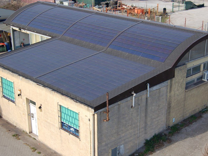 TEGOSOLAR tetto fotovoltaico Tegosolar integrato