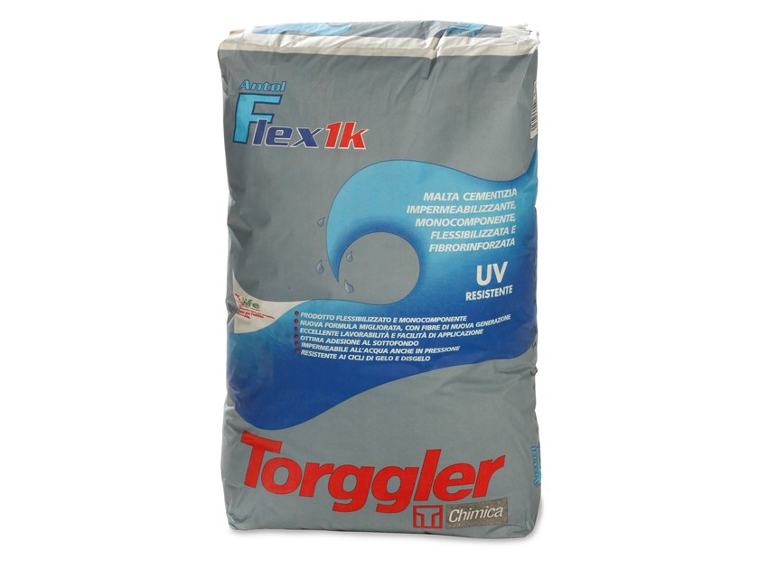 Cement-based waterproofing product ANTOL FLEX 1K by Torggler Chimica