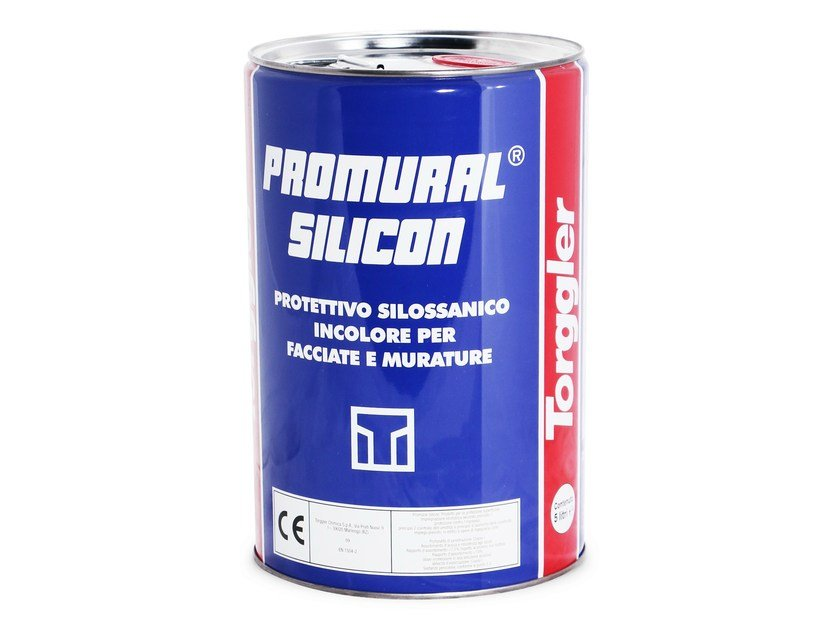 Surface water-repellent product PROMURAL SILICON by Torggler Chimica