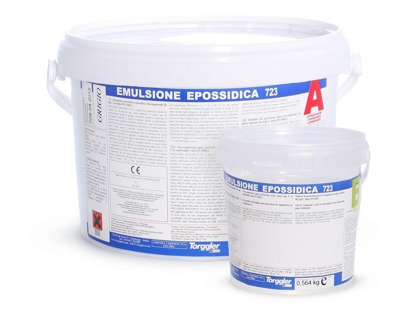 Epoxy paint EMULSIONE EPOSSIDICA 723 by Torggler Chimica