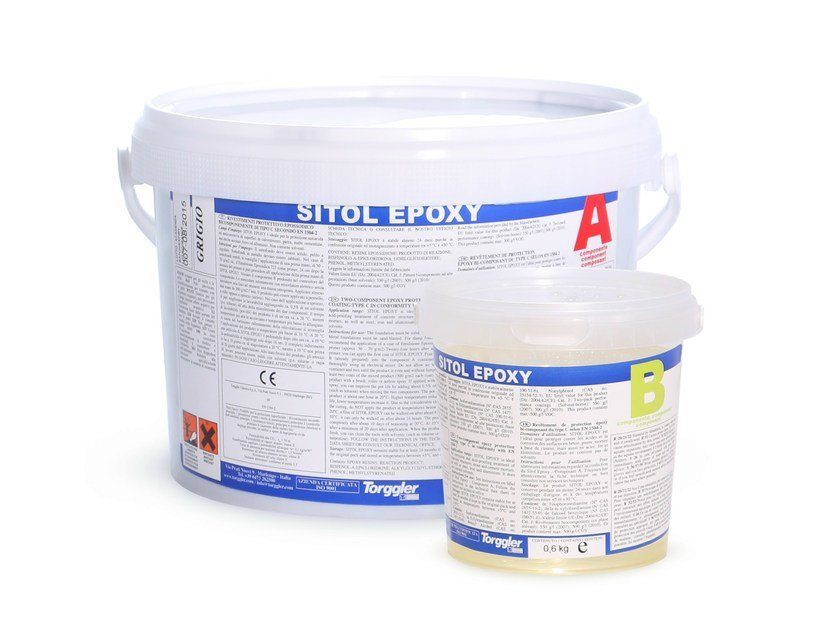 Surface protector for concrete SITOL EPOXY by Torggler Chimica