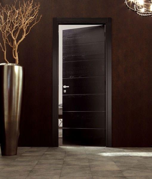 Hinged wooden door TEKNA 6 by Ghizzi & Benatti