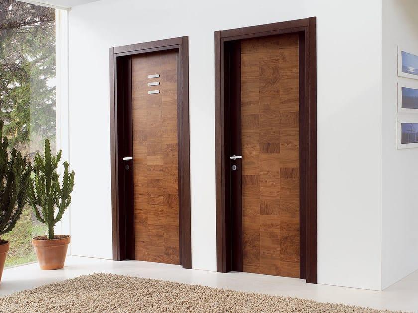 Hinged wooden door PLANET by Ghizzi & Benatti