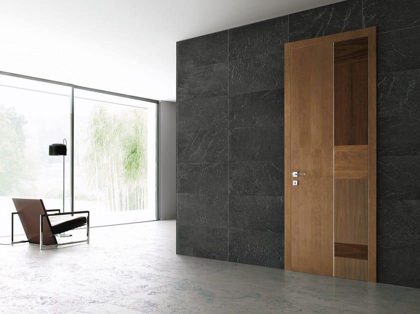 Hinged wooden door STONE by Ghizzi & Benatti