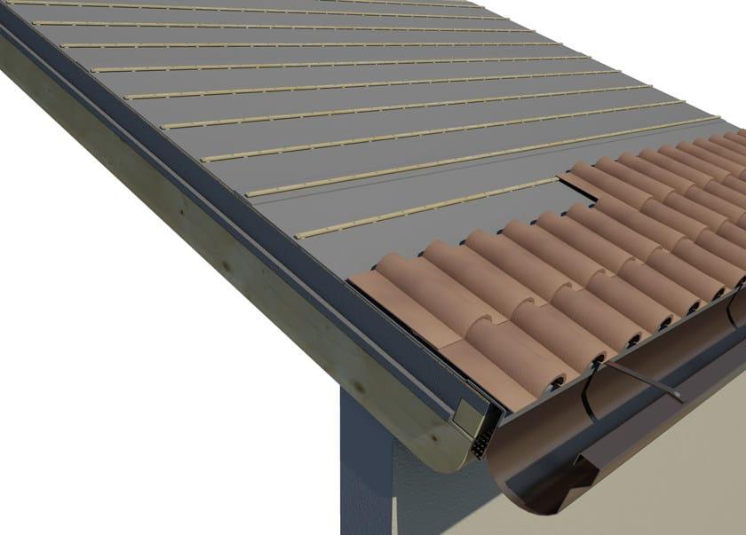 AIREK LAMBDA | Sistema per tetto ventilato SISTEMA DI POSA: MANTO DI COPERTURA IN TEGOLE O COPPI